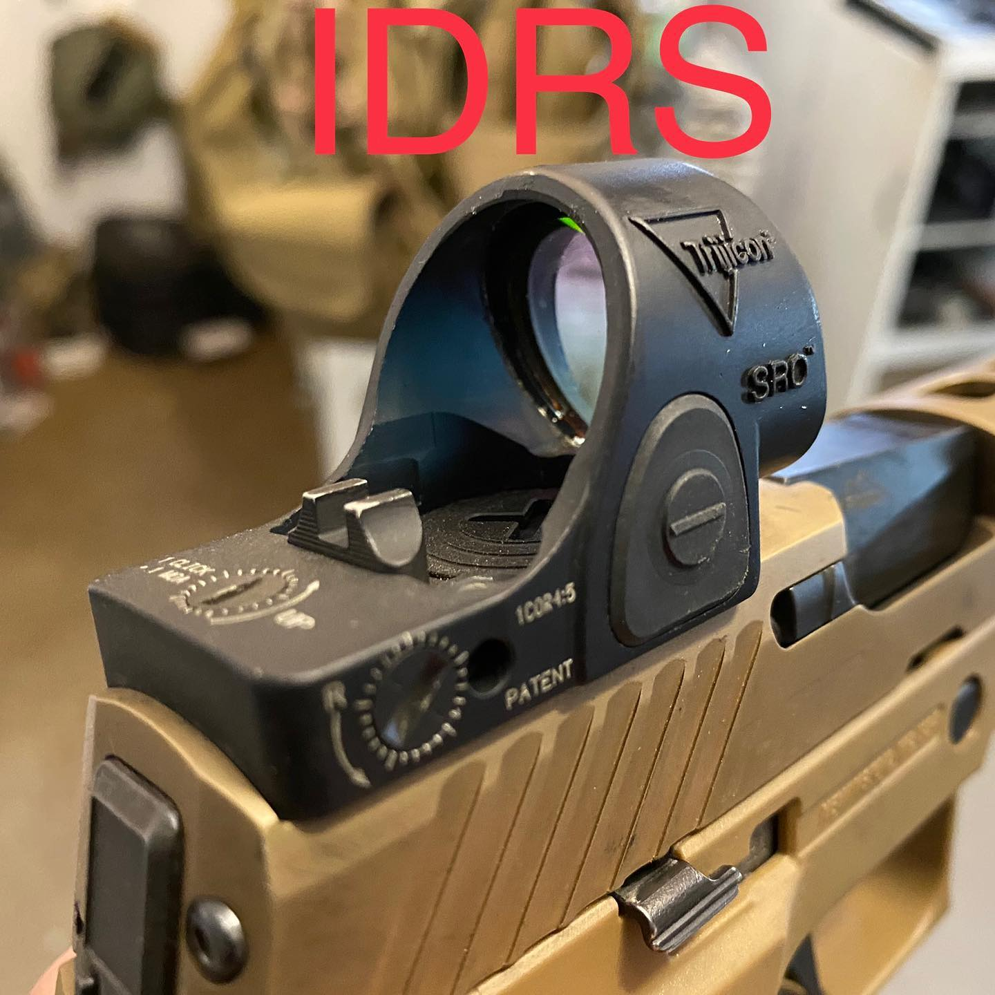The Integrated Rear Sight (IDRS) from Parker Mountain Machine
