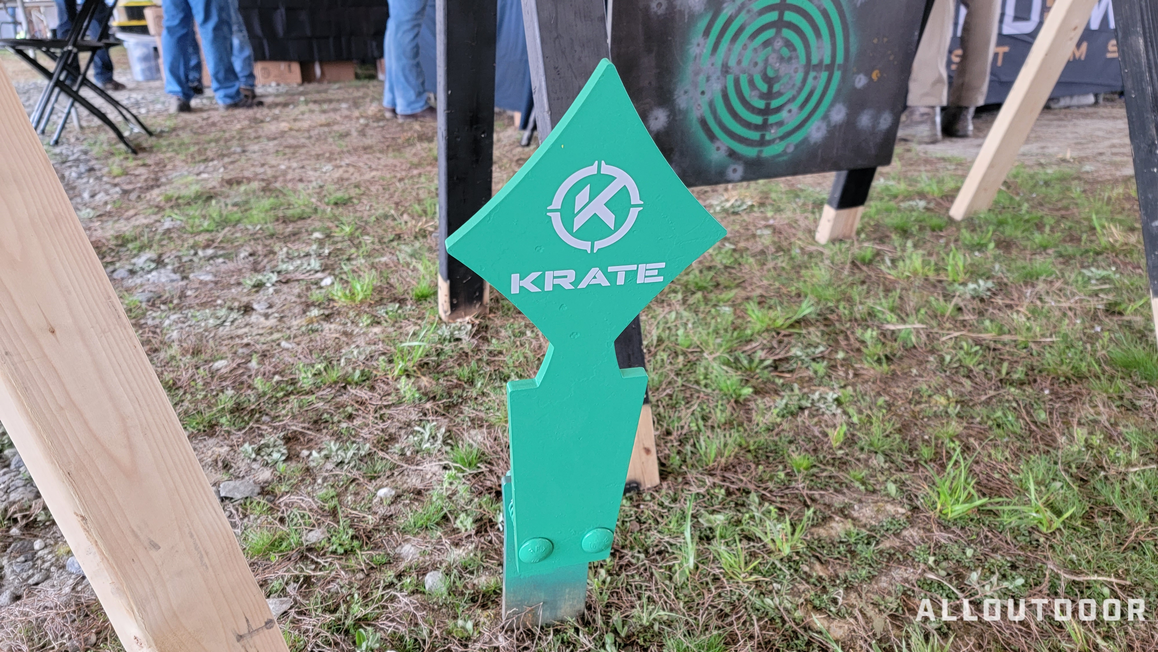 Ante Up! Deck of Cards Steel Targets from KRATE Tactical