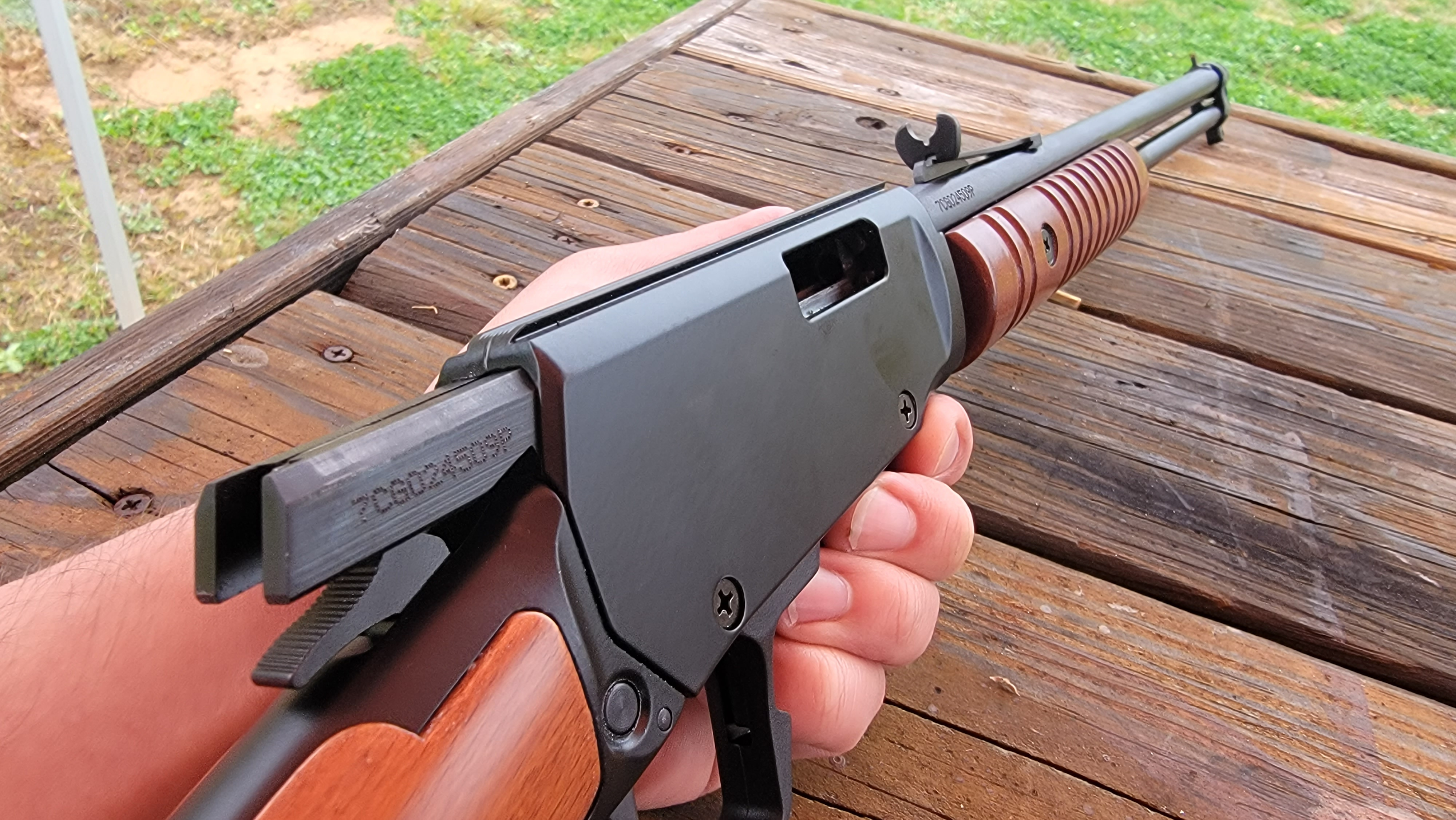 Pump Action Rimfire Rifle - The 15-Shot Rossi Gallery 22