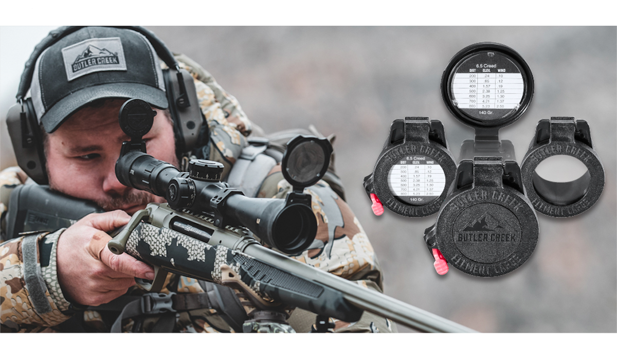 Butler Creek Unveils Their New Element Scope Caps