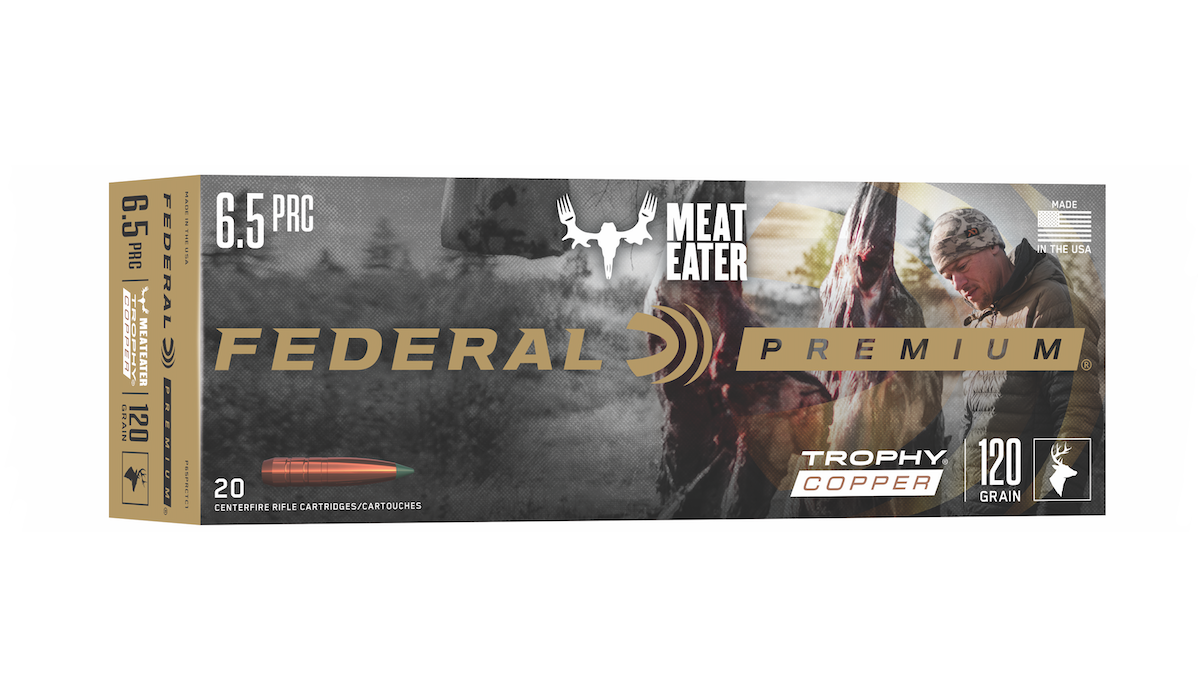 NEW From Federal Premium – MeatEater Trophy Copper 6.5 PRC