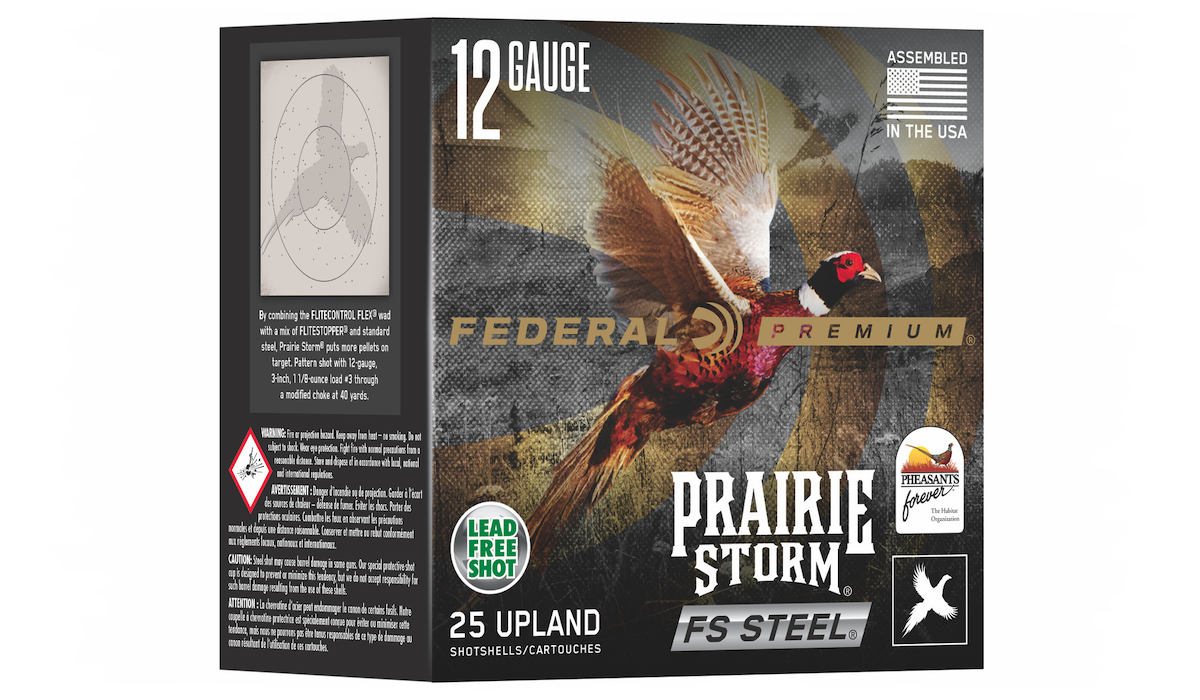 18 NEW Federal Prairie Storm 12 and 20 Gauge Options