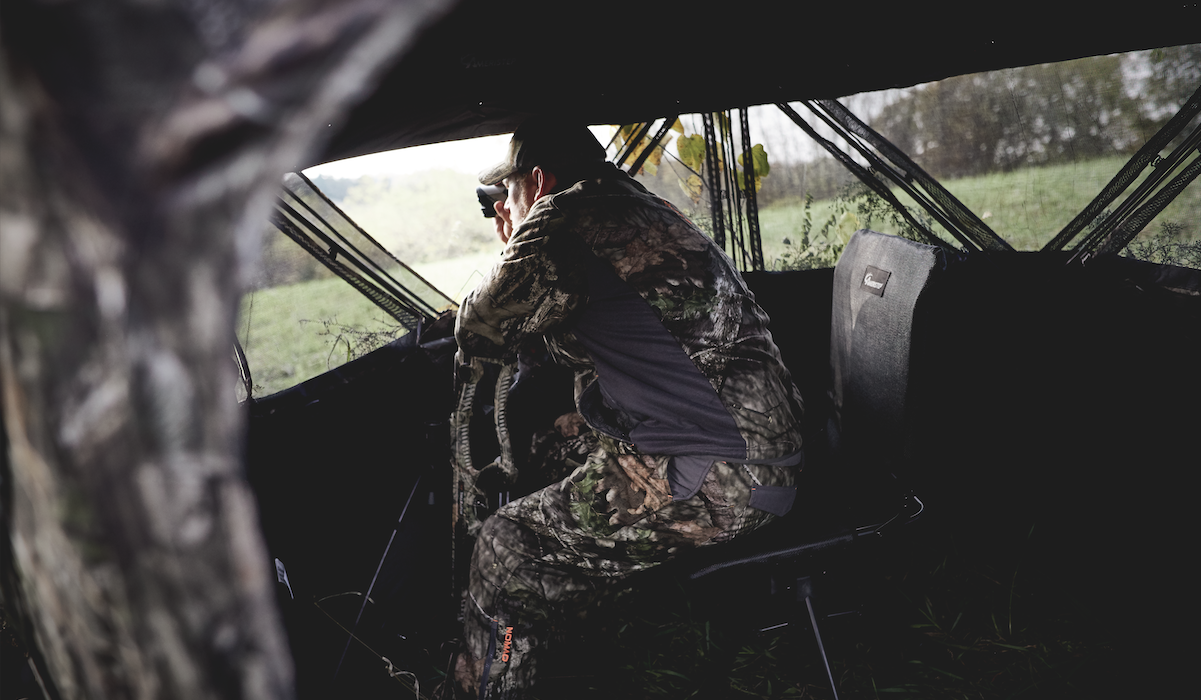 The NEW Silent Swivel Blind Chair from Ameristep