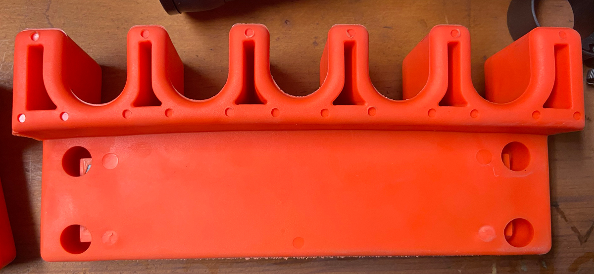 There's a curve on a Gripper Caddy (Photo © Russ Chastain)