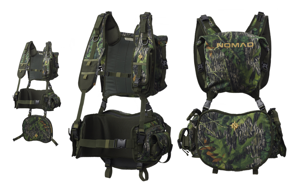NOMAD Pursuit Convertible turkey hunting vest (Image © NOMAD Outdoors)