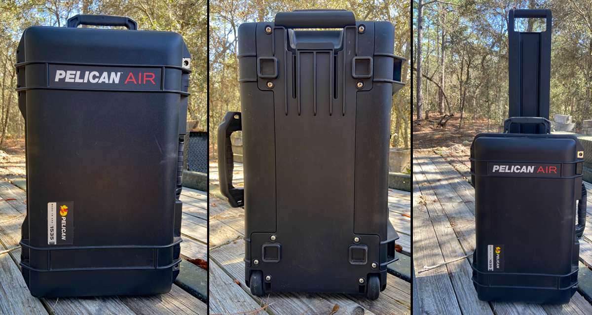 AllOutdoor Review: Pelican 1535 Air Hard Sided Rolling Carry-On Case