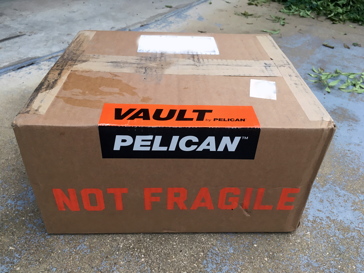 My Vault case came in this box. (Photo © Russ Chastain)