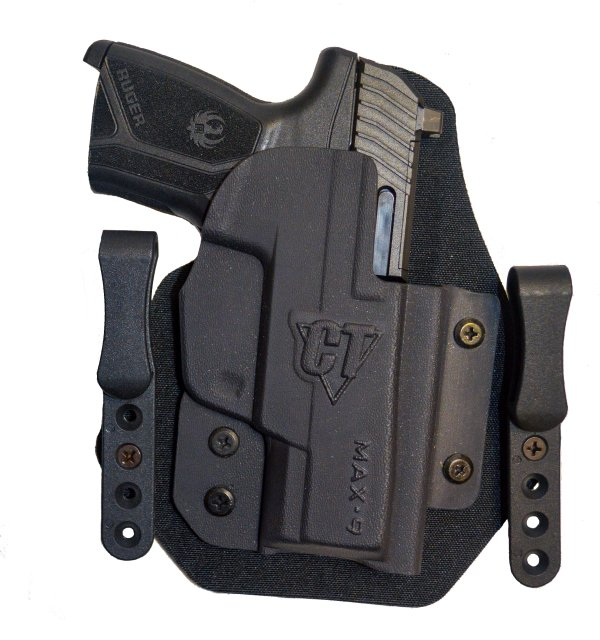 NEW Comp-Tac Ruger MAX-9 Holsters for OWB and IWB Carry