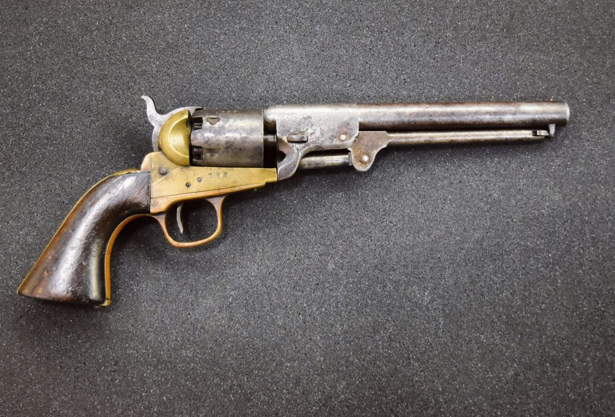 POTD: The Confederate Colt – The Griswold & Gunnison