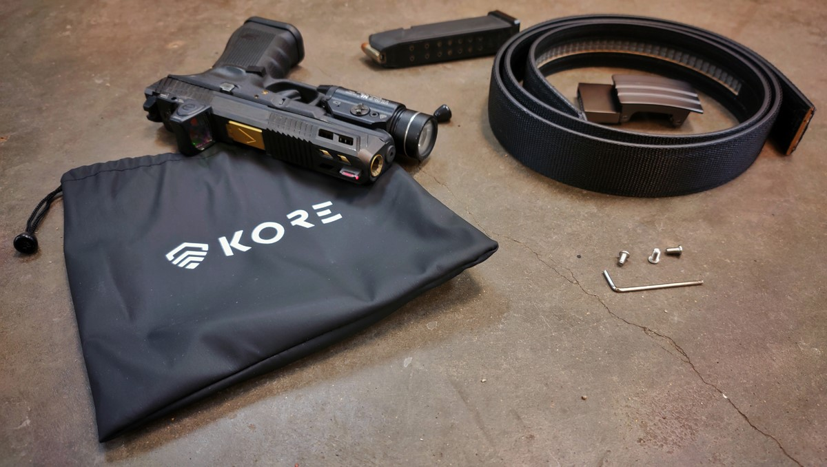 1-Year AllOutdoor Review: Kore Essentials X2 Tactical Black Gun Belt