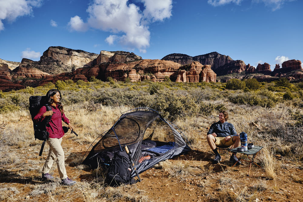 Walmart Moosejaw Lithic One Person Backpacking Tent