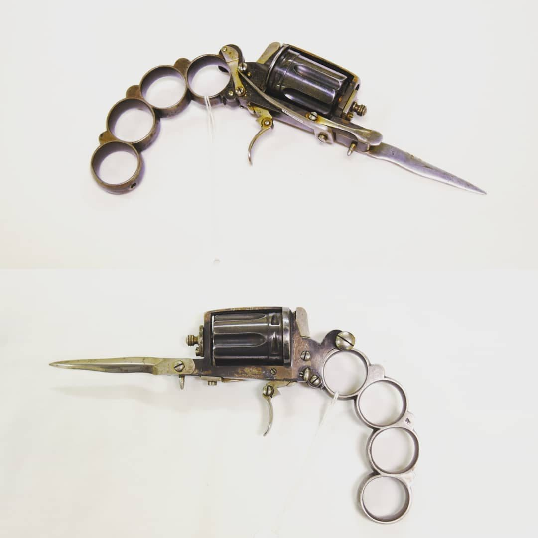 POTD: Imagine If They Made These Today! The Apache Revolver