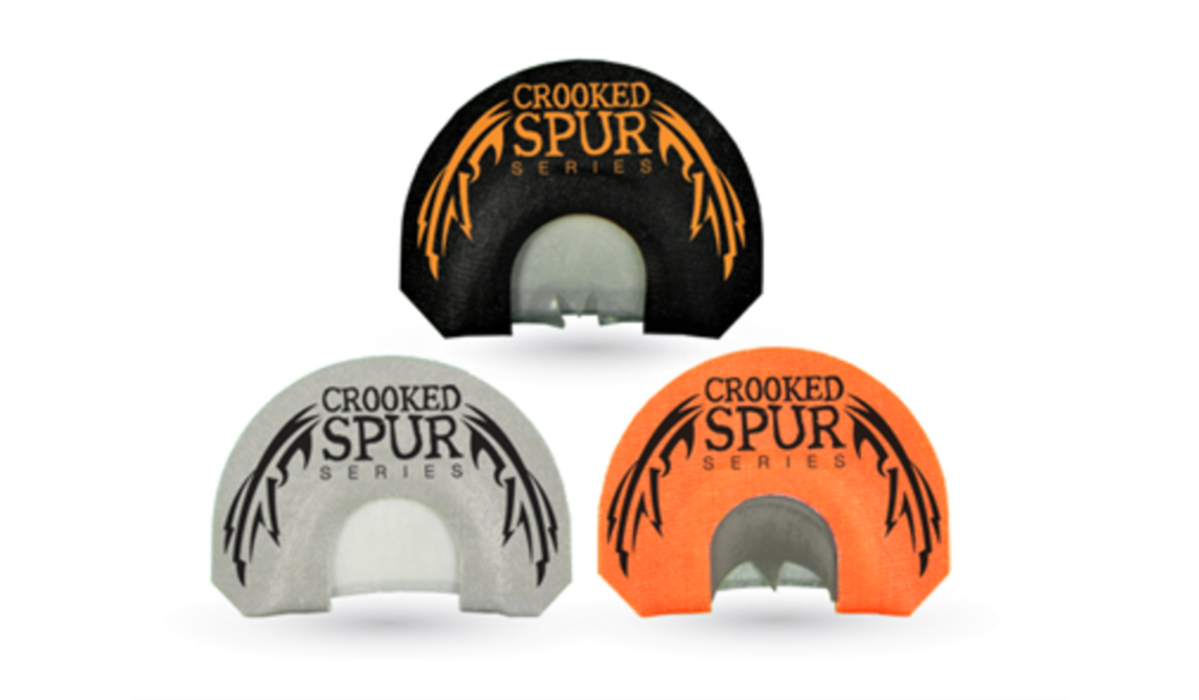 New FOXPRO Crooked Spur Series Mouth Calls For Turkey Hunters