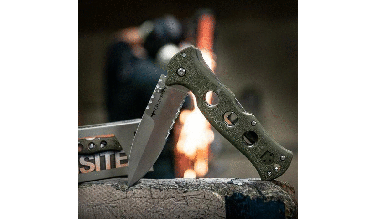 NEW Cold Steel Gunsite Counter Point 1 – Everyday Carry (EDC) Knife