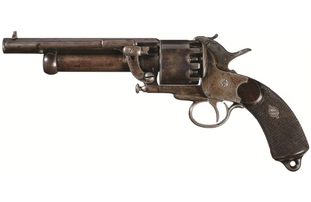 POTD: From Obscurity to Infamy – The Lemat Revolver