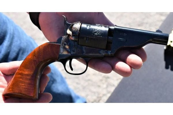 Taylor's and Company Releases New Hickok Open Top Revolver