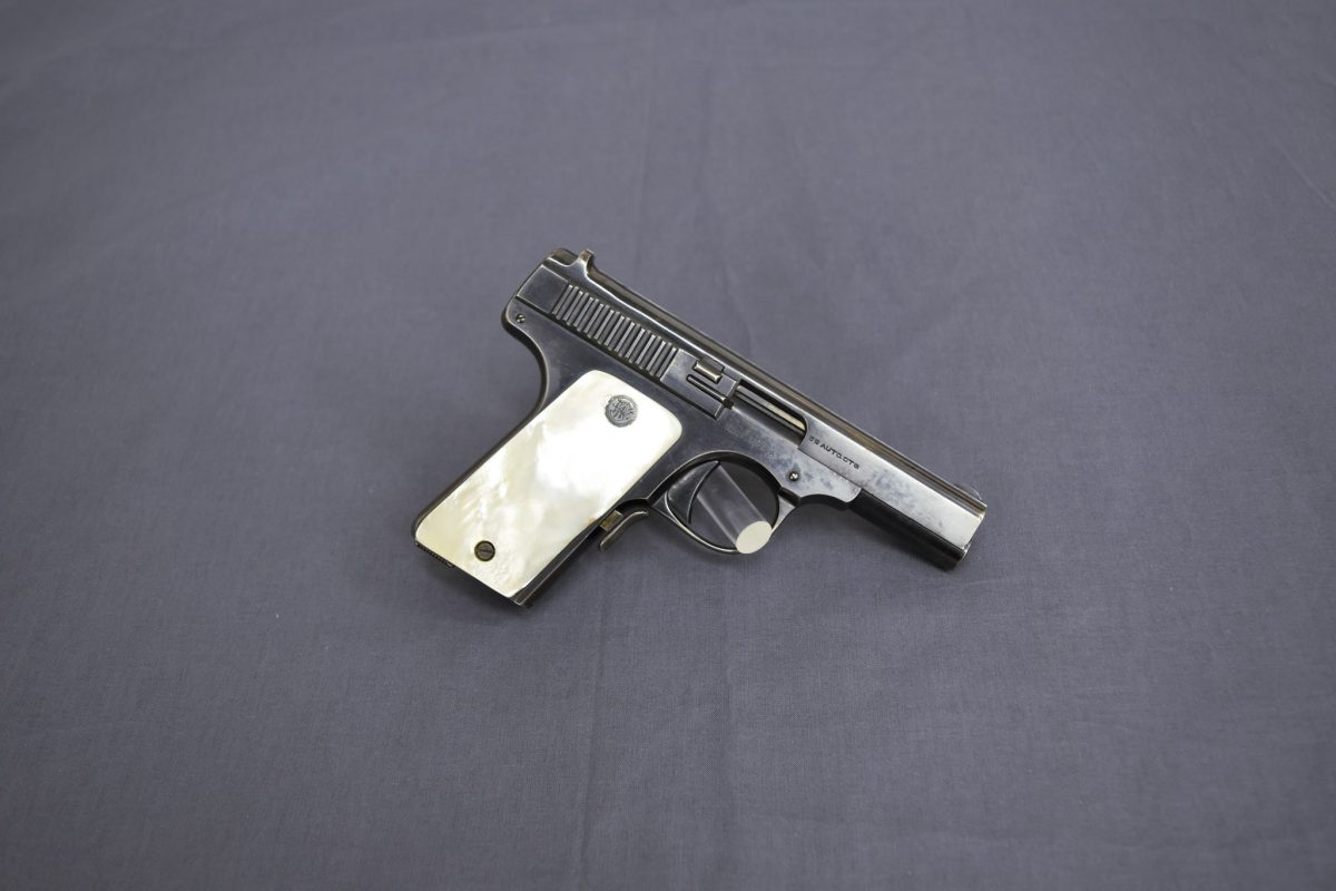 POTD: The Shield Before it was Cool – Smith and Wesson .35 Auto
