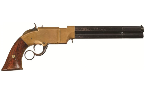 POTD: Not a Mare's Leg, but still a Lever-Action Pistol – The Volcanic