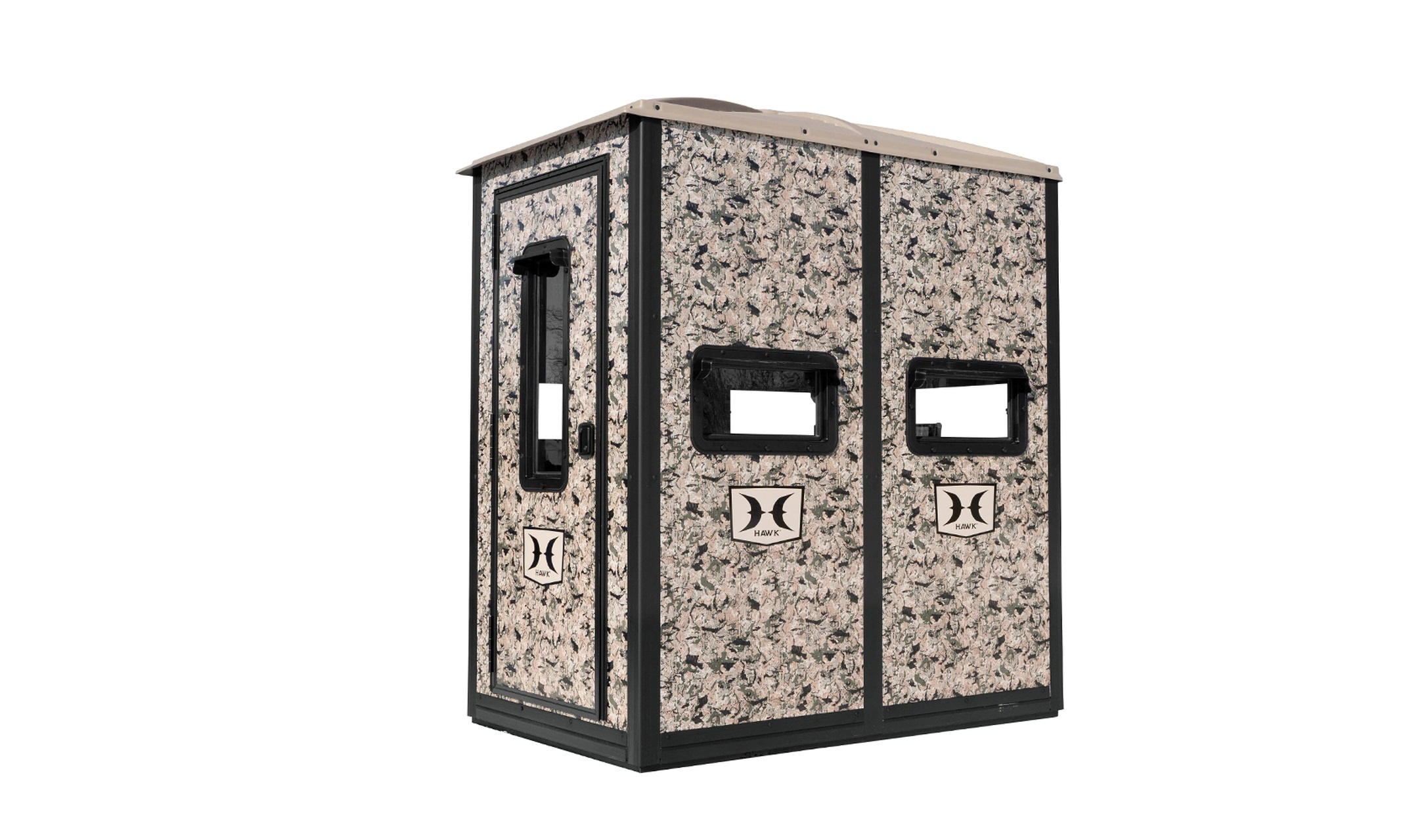 NEW Double Down Box Blind From Hawk Hunting