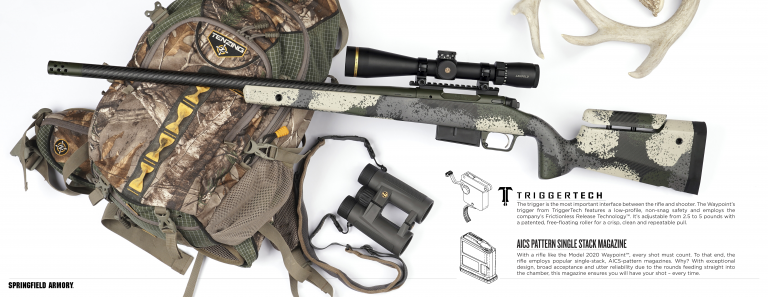 Springfield Armory Model 2020 Waypoint named 2021 Rifle of the Year