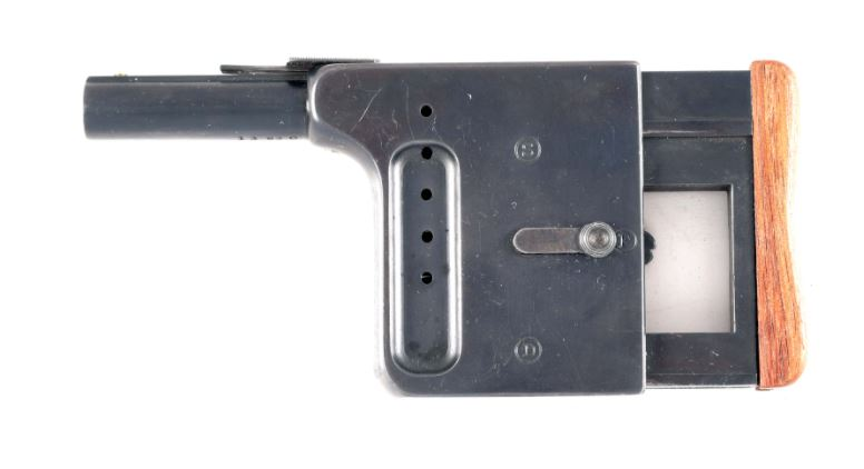 POTD: Squeeze Out Some Lead! Gaulois No. 1 Palm Pistol