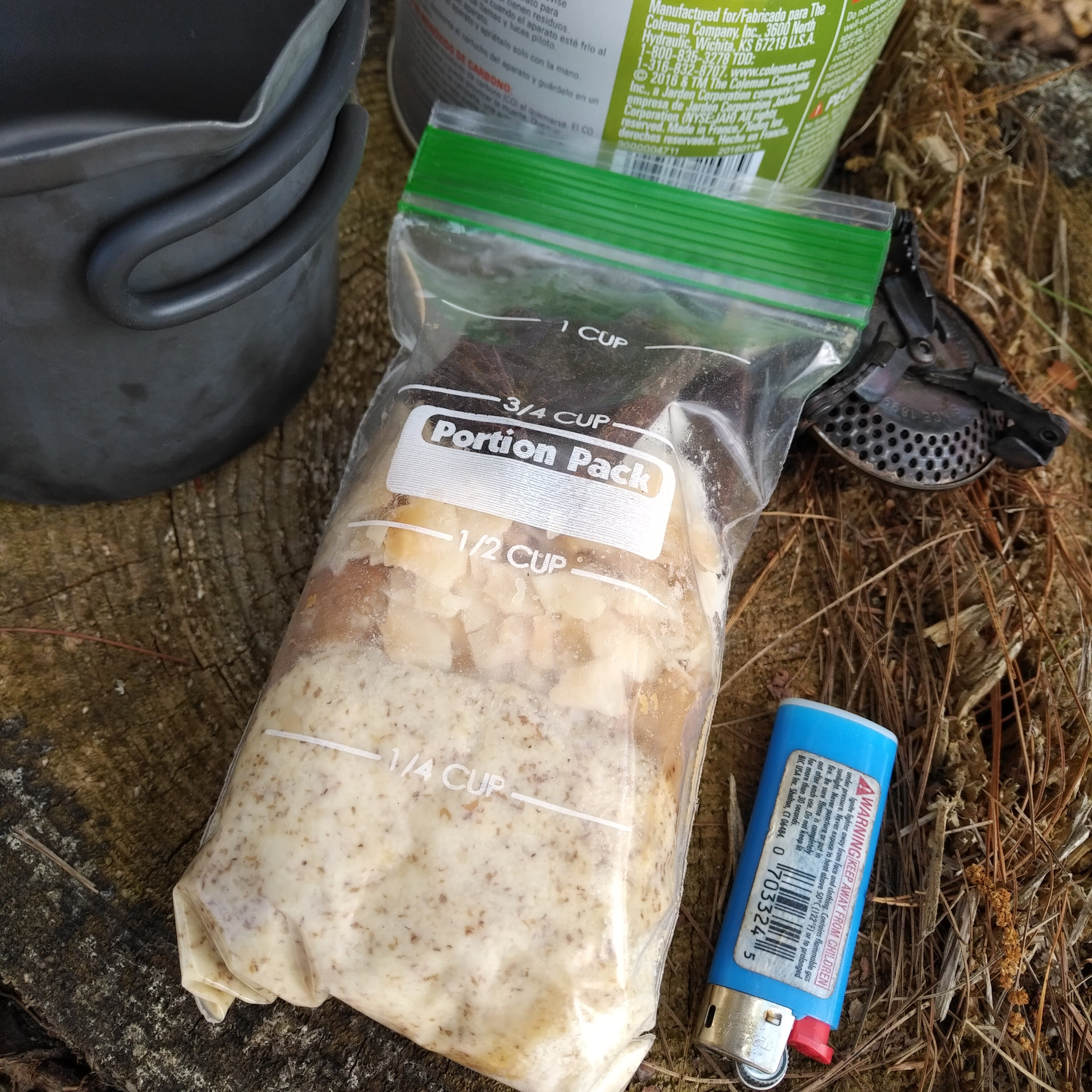 Path Less Traveled Trail Cuisine DIY Peanut Butter Cocoa Wheats Camp cooking camping food camping recipe nutrient density backpacking meals