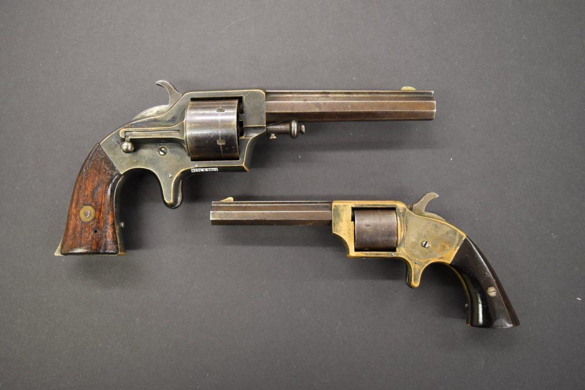 POTD: A Pair of Merwin and Bray Cupfire Revolvers