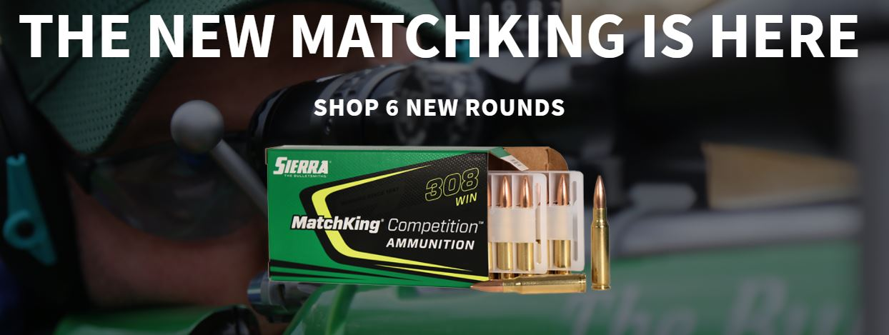 New MatchKing Competition Ammunition Line Introduced by Sierra