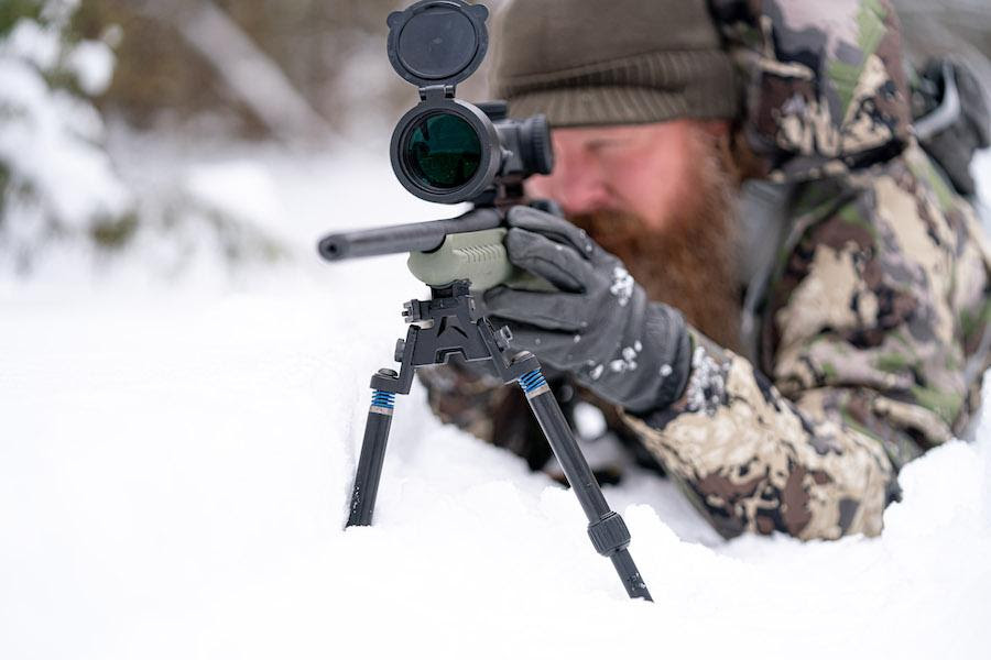 New SEA-12 and SFR-10 Tactical Bipods from Swagger Bipods