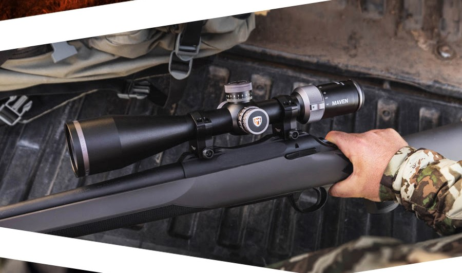 The New RS.5 Second Focal Plane 4-24x50mm Scope from Maven