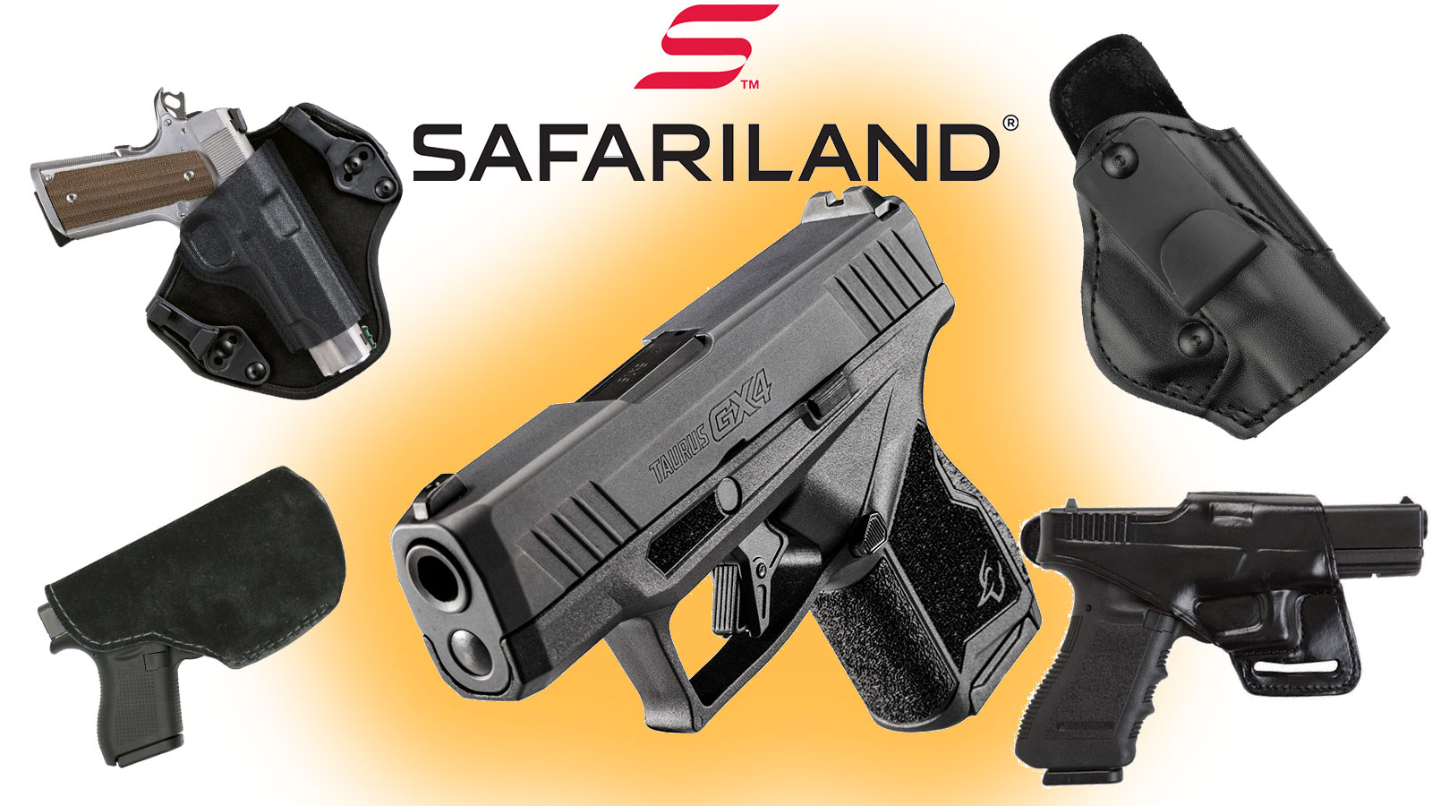 New Taurus GX4 Holster Options Introduced by Safariland and Bianchi