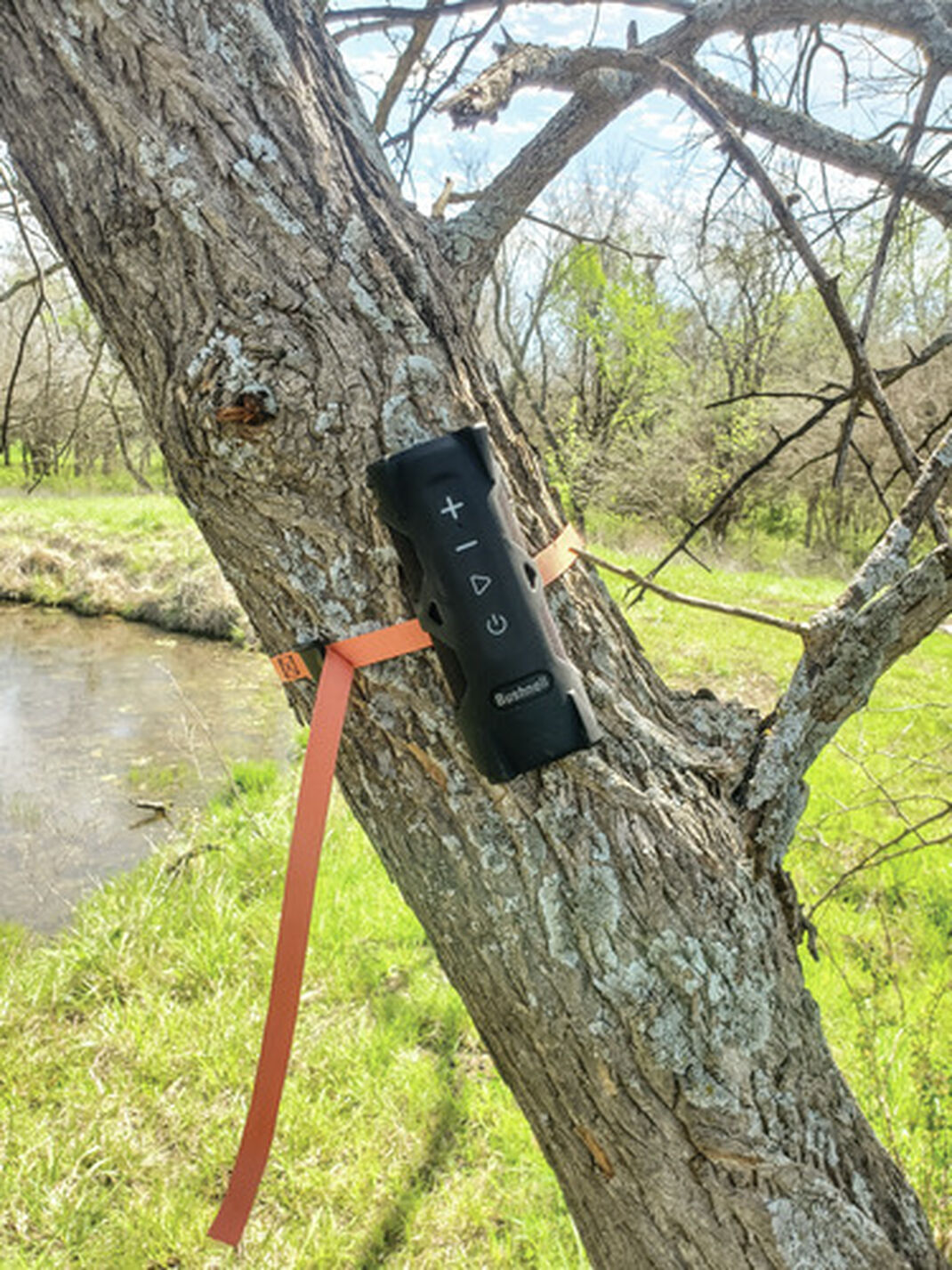 Portable Summer Tunes with the New Bushnell Outdoorsman Speaker