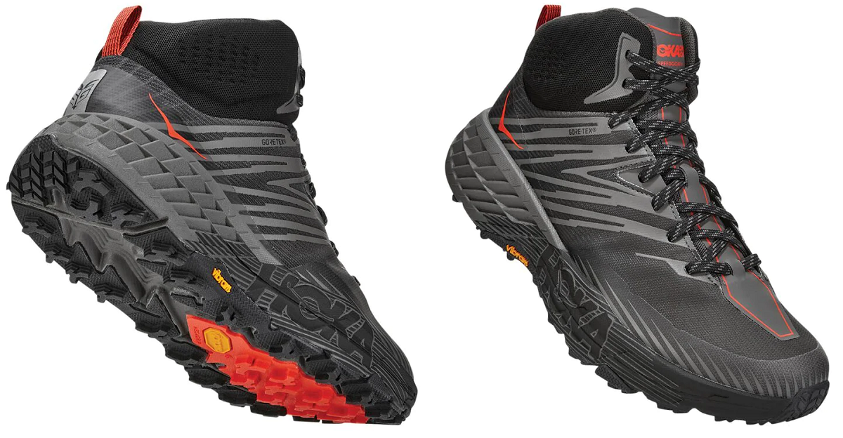 Hoka One One Speedgoat Mid Gore-Tex GTX 2 Review Shoe Hiking Trail Runner Backpacking Plush Comfort Support Fast Comfortable