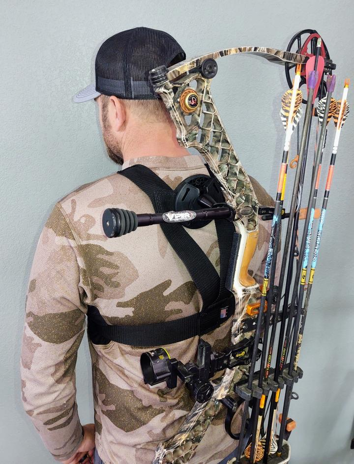 Have Your Bow Ready to Go with the Bow Spider Holster