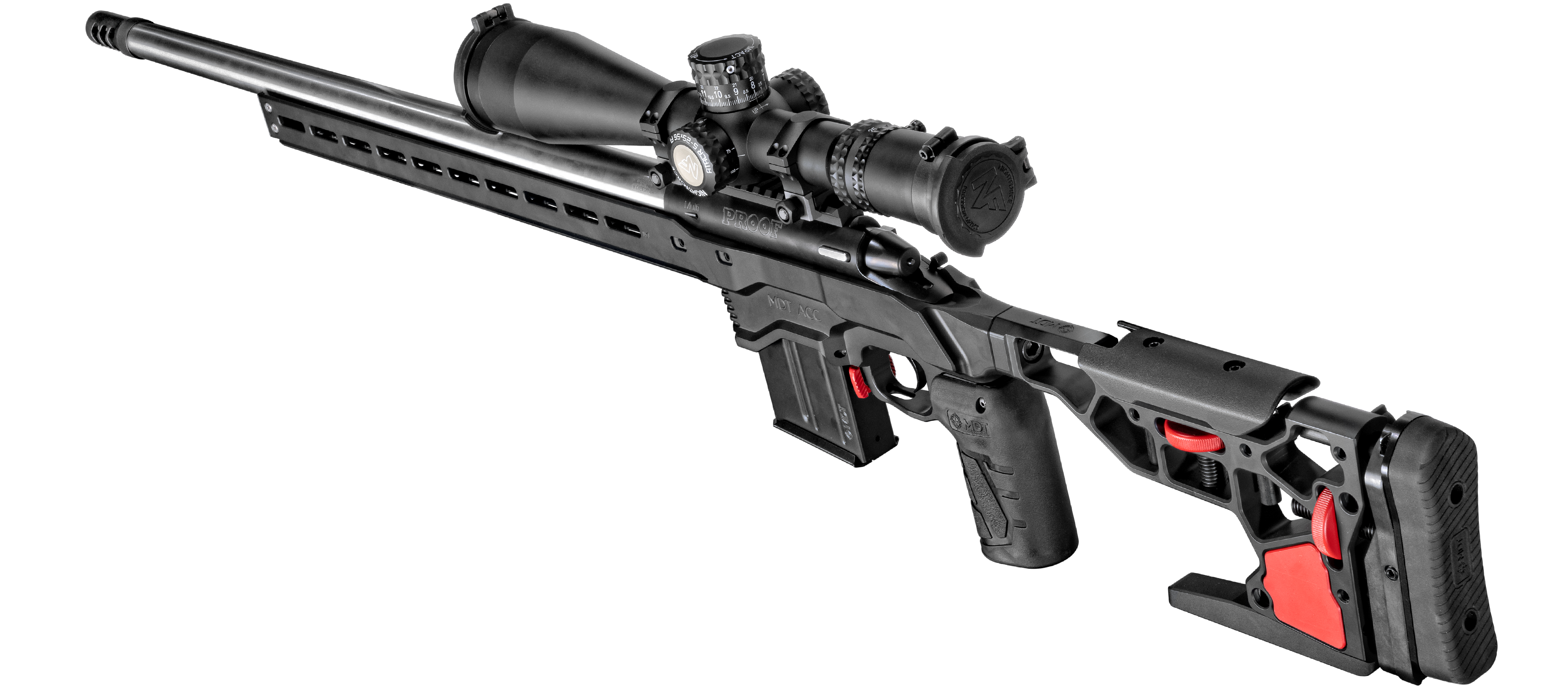 New Precision Rifle: PROOF Research MDT Chassis Rifle