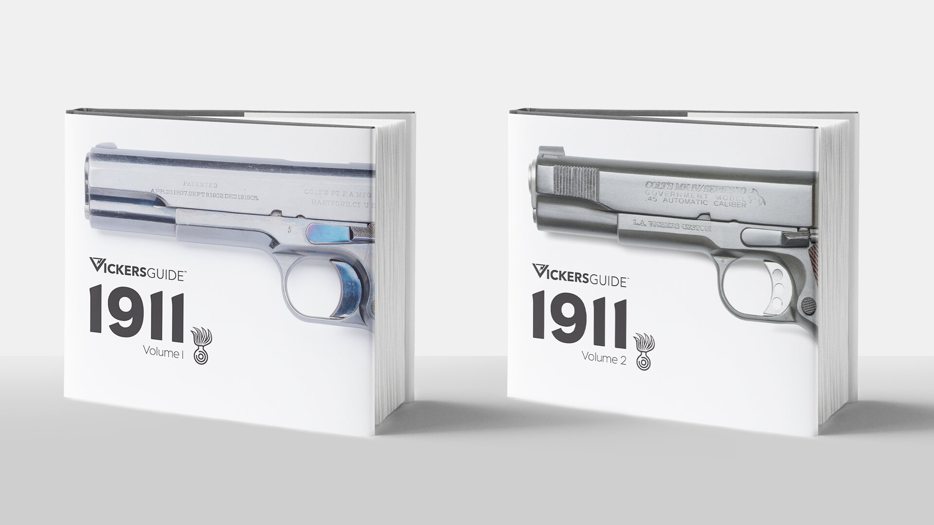 Volume I & II of Vickers Guide 1911 Available for Pre-Order Now