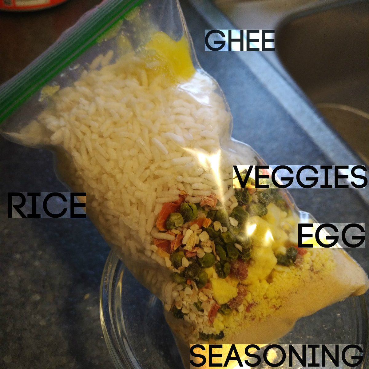 camping recipe path less traveled Trail Cuisine Fried Rice