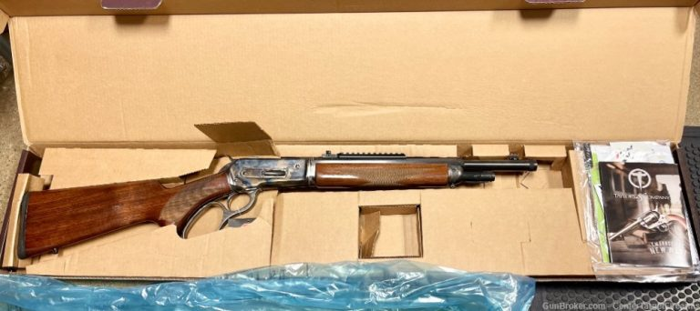 Taylor's New TC86 Takedown Lever-Lever Action Rifle