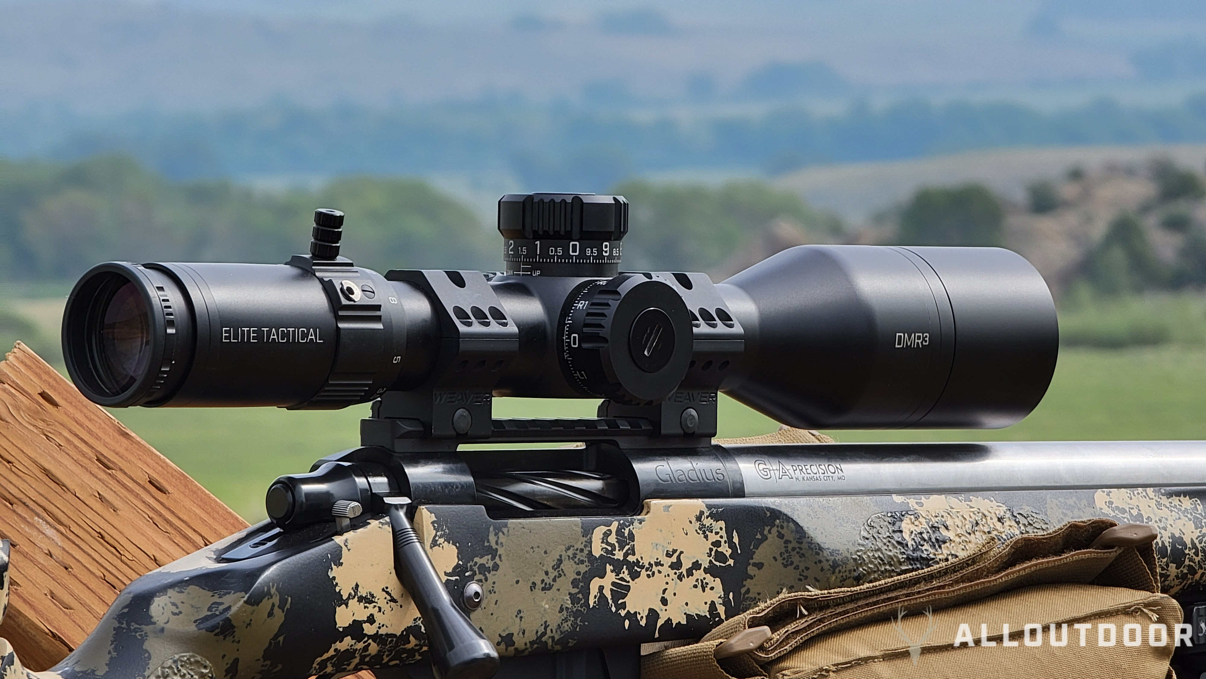 Bushnell's New Elite Tactical XRS3 and DMR3 Riflescopes