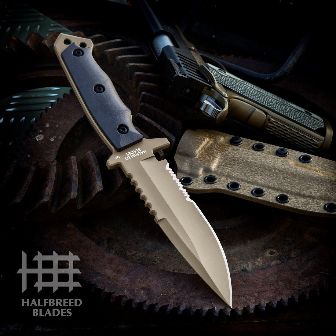 Introducing the MIK-03 Medium Infantry Knife from Halfbreed Blades