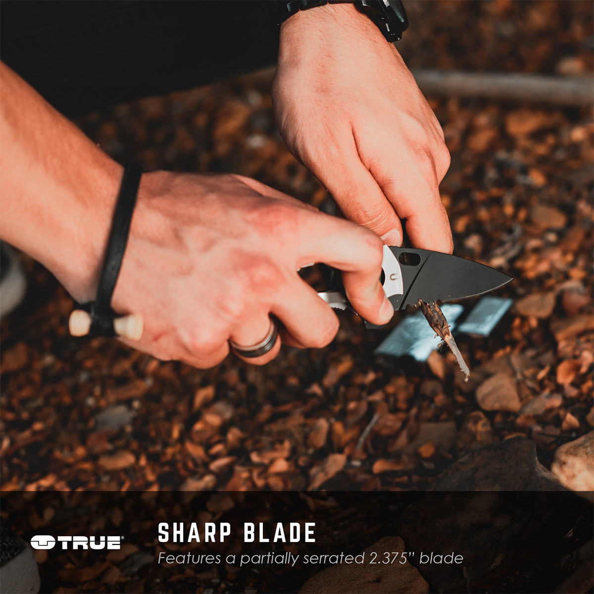 The TRUE Knives SmartKnife+ - Blade First, Multitool Second