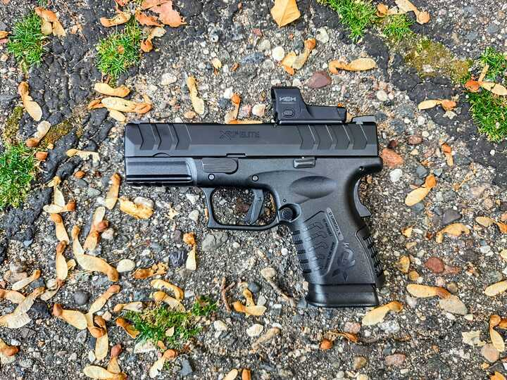 """Springfield Releases the 10mm XD-M Elite 3.8"""" Compact OSP Pistol"""