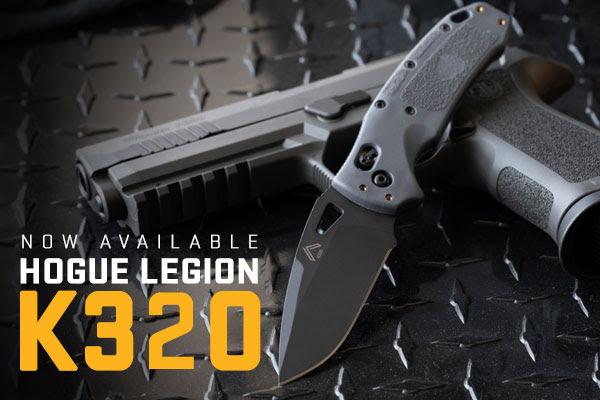 The New HOUGE LEGION K320 Folding Knife from SIG